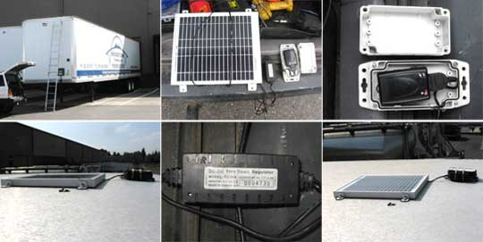 Trailer Tracker GPS with Solar Panel